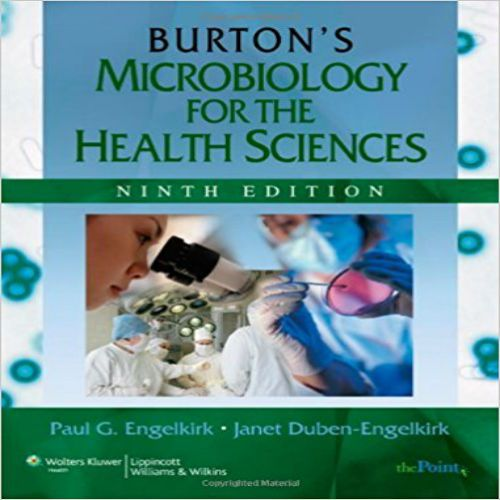The 25 best microbiology textbook ideas on pinterest test bank for burtons microbiology for the health sciences 9th edition by engelkirk isbn fandeluxe Gallery