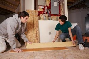 How to Start the First Row on Laminate Floor if the Wall is Not Straight
