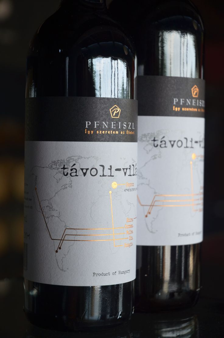 """Pfneiszl Távoli Vilag """"Wide World"""". Een """"wereldwijn"""" gemaakt van Shiraz, Sangiovese, Zinfandel, Malbec en Camenère. De CV van een jonge wijnmaakster, Birgit Pfneiszl, in één fles."""
