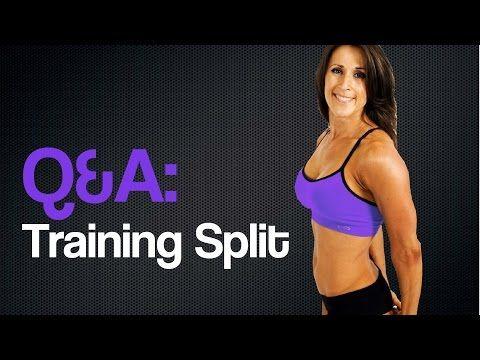 Q&A: Training Split - YouTube #bodybuilding #training #program #trainhard #workout #fitness #IFBB #NPC #jenniferdietrick #weightlifting #lifting #liftheavy #weighttraining