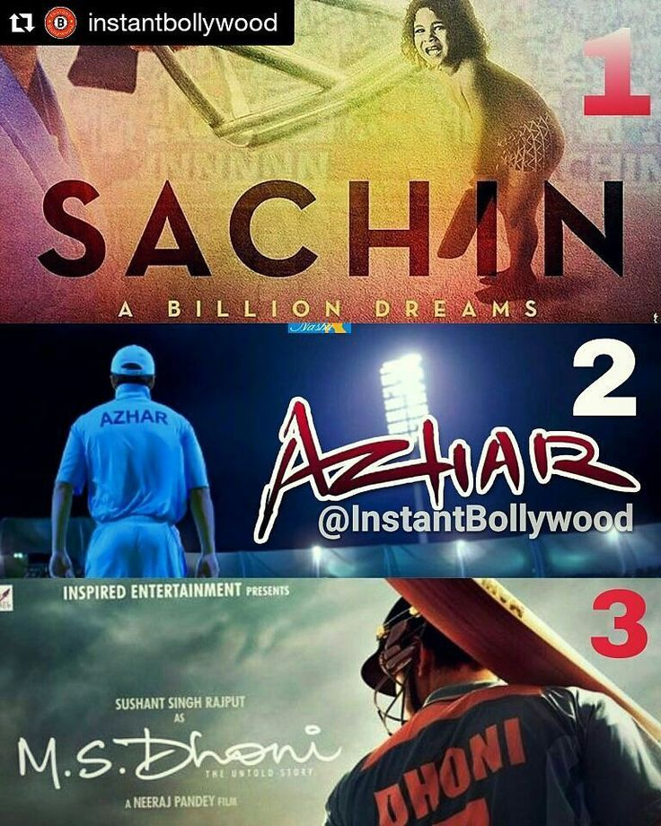 #Repost @instantbollywood  Which Cricket movie are you most looking forward to?. 1. Sachin 2. Azhar 3. Dhoni.  @InstantBollywood  . . #instabollywood #bollywood #india #indian #desi #bollywoodactress #mumbai #bollywoodfashion #bollywoodstyle #cricket #indiancricket #ipl2016 #ipl #t20 #sachintendulkar #sachin #sachinmovie #dhoni #kohli #raina #yuvraj #pandya #hardikpandya #azhar #prachidesai #nargisfakhri #emraanhashmi #gautamgulati @BOLLYWOODREPORT  . For more follow #BollywoodScope and…