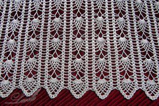 Ravelry: Pineapple Edge Ананасовая кайма pattern by Larisa Valeeva