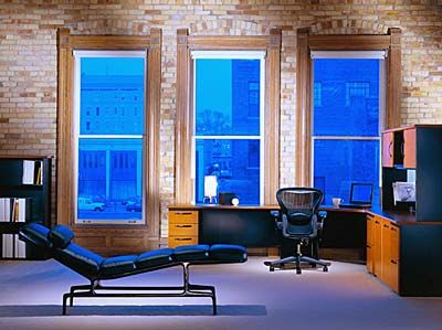 herman miller office design. A Moody Office Space With An Aeron Chair By Herman Miller Design