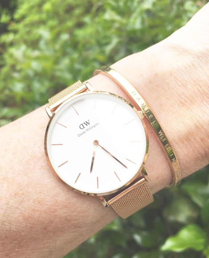 """How beautiful is this watch?!  Daniel Wellington has debuted the Classic Petite Melrose Watch.  The watch just launched a few days ago and Kendall Jenner is doing the campaign!  Enter the discount code """"CLASSYYETTRENDY"""" for 15% off your order… #ad #dwclassicpetite #danielwellington @danielwellington"""