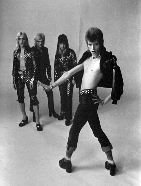 """Ziggy Stardust & the Spiders from Mars...In memory of Trevor Bolder. """"Trevor was a wonderful musician and a major inspiration for whichever band he was working with,"""" Bowie said in a statement. """"But he was foremostly a tremendous guy, a great man."""" ~ From Rolling Stone"""