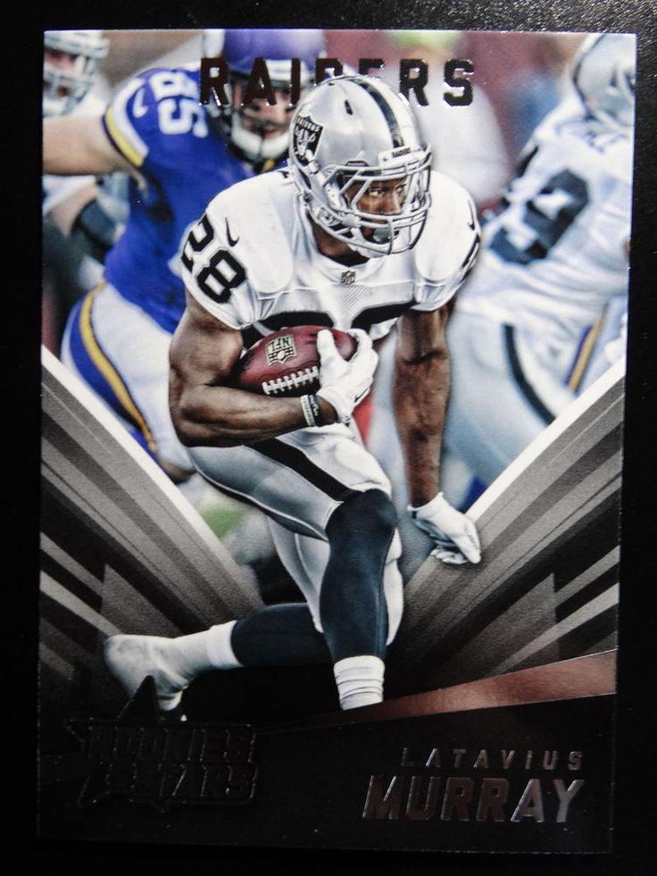 2015 Panini Rookies & Stars #46 Latavius Murray Oakland Raiders Card #OaklandRaiders