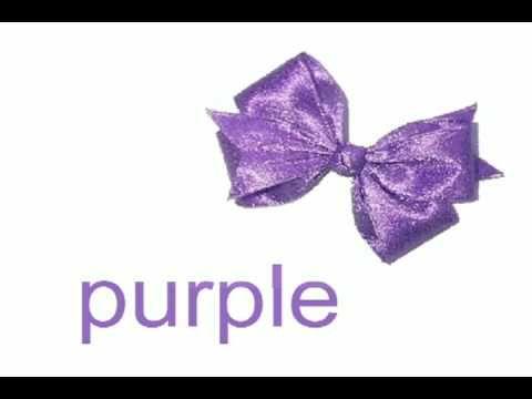 color P-U-R-P-L-E purple song - Kindergarten