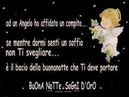 Buonanotte con angelo!