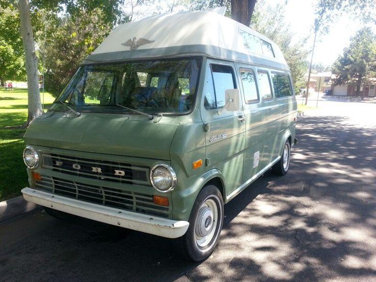 tortuga 72 ford econoline camper van dreamobile. Black Bedroom Furniture Sets. Home Design Ideas
