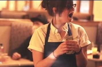 These Servers' Reactions After Receiving $200 Tips Will Warm Your Heart