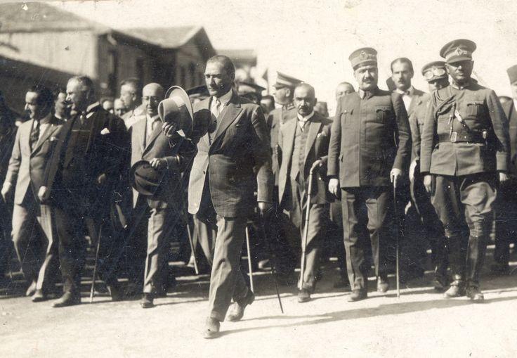 Atatürk Kastamonu Gezisi Dönüşü Ankara'da (1926)