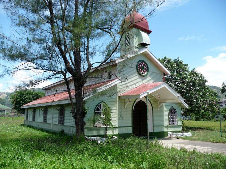 Another of Mojon Chapel, Central Azucarera de Bais Company House, Bais, Negros, Philippines. (The model for San Honorato on Hacienda Altarejos.)