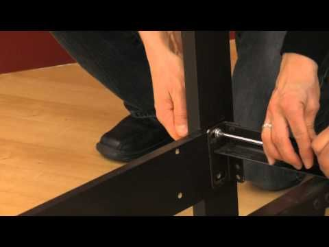 How To Attach A Headboard To A Metal Frame Black