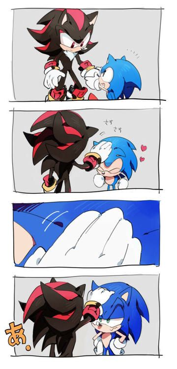 Shadow and sonic comic