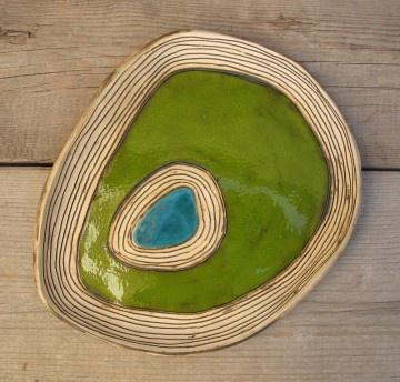 misy, patery i talerze - ceramiczne-poziomice