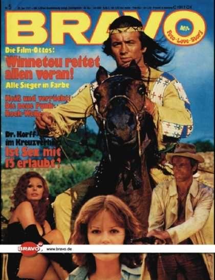 Bravo - 05/77, 20.01.1977 - Pierre Brice - Terrence Hill