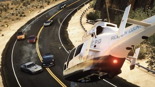 Need For Speed Rivals Helicopter Inbound Wallpaper