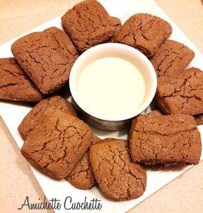 I biscotti inzupposi al cacao sono dolcetti ideali per la prima colazione perche' come dice lo stesso nome sono ottimi intinti nel latte caldo.