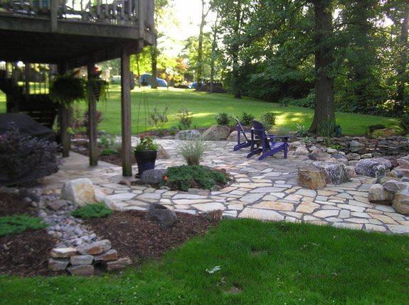 Garden architecture montgomery county pa for Professional landscaping ideas