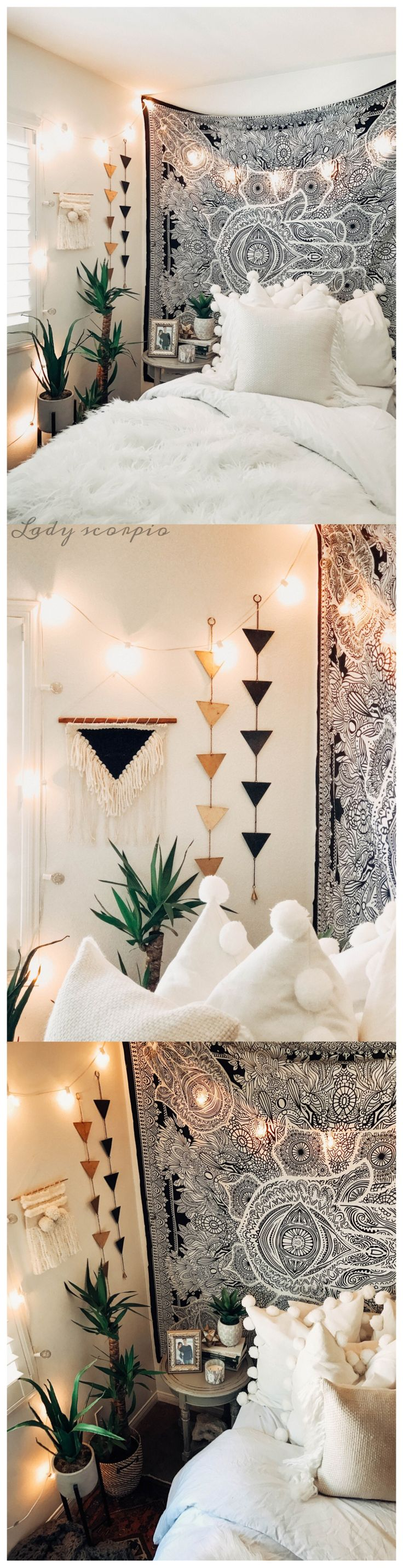 Room inspo❤️ Design by @kaitlynjohnsondesign ☽ ✩ Save 25% off all orders with code PINTERESTXO at checkout | Shop Now LadyScorpio101.com | @LadyScorpio101 |