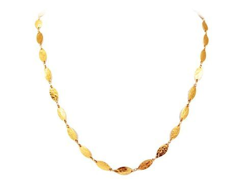 24K Gold Willow Necklace by GURHAN