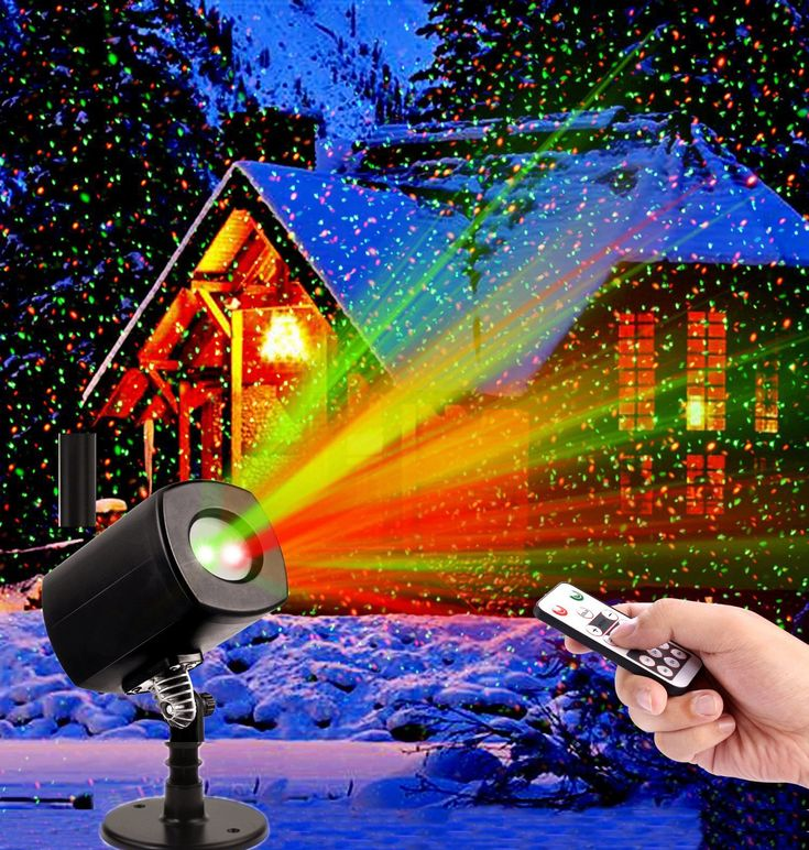 Christmas LED Projector Light Star Laser Landscape Projector Light Waterproof Outdoor Garden Spotlight for Christmas Party Disco-Replacement Service