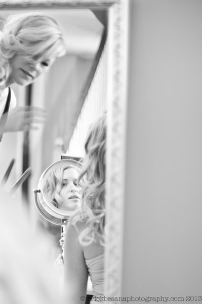 Playing with Mirrors- Wedding Photo ideas