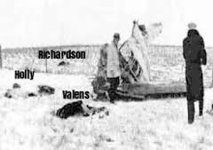 Image result for ritchie valens plane crash bodies