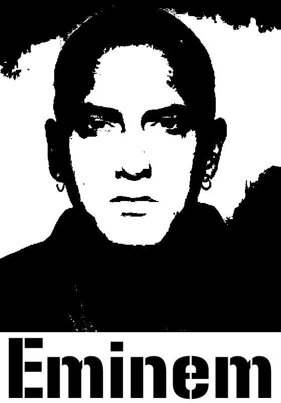 Eminem Stencils In 2019 Stencil Art String Art Eminem
