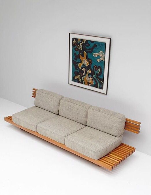 1960s handcrafted sofa
