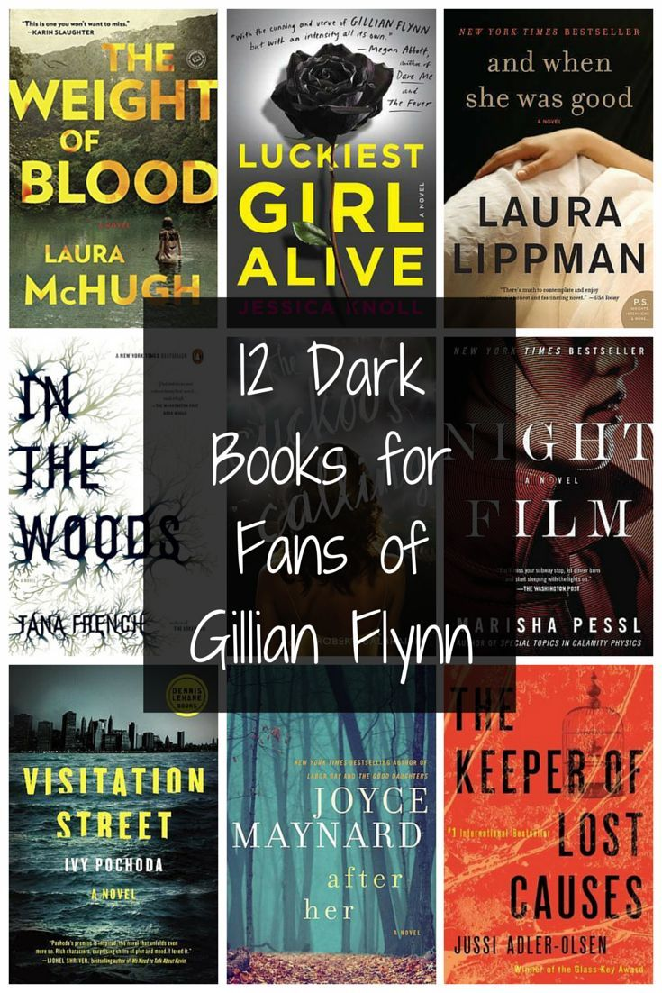Books if you love Gillian Flynn books