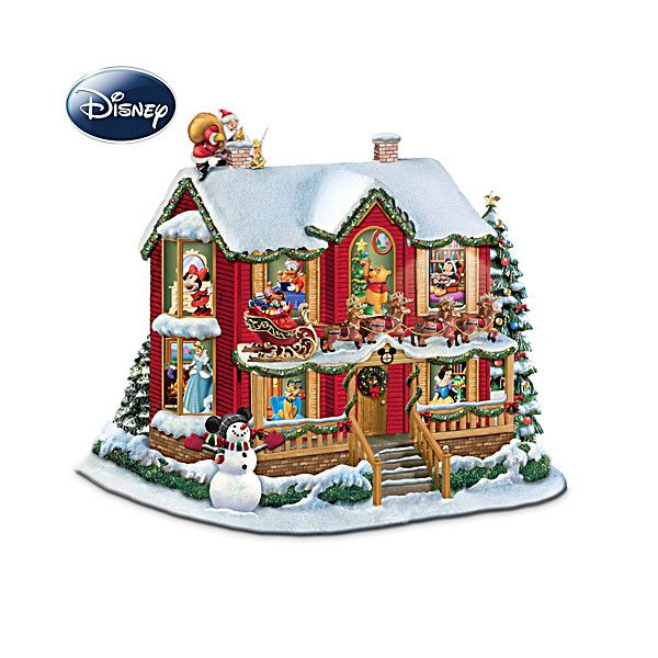 Disney 'Twas The Night Before Christmas Sculpture