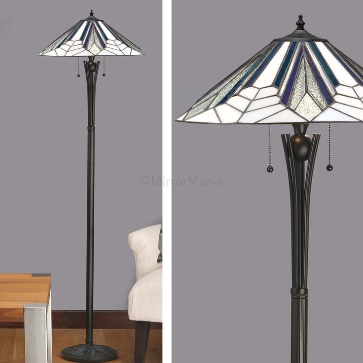 Astoria range art deco tiffany floor lamp floor lamps lighting home decor