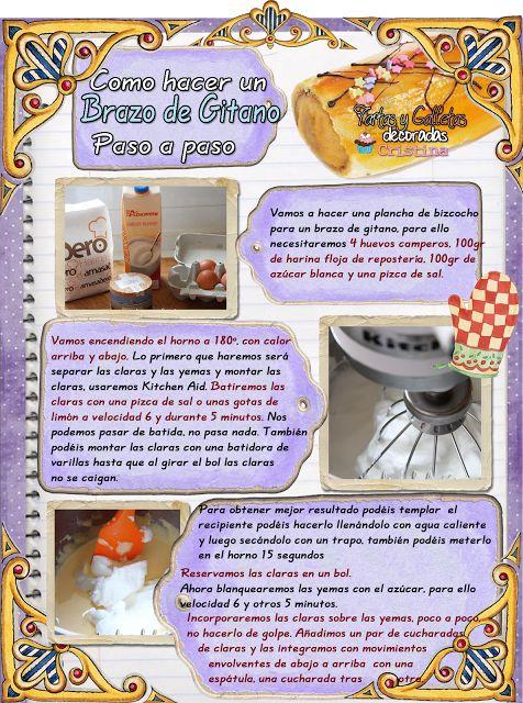 Tartas, Galletas Decoradas y Cupcakes: BRAZO DE GITANO 1