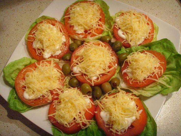 Pomidory czosnkowe - ulubiona przekąska ;)