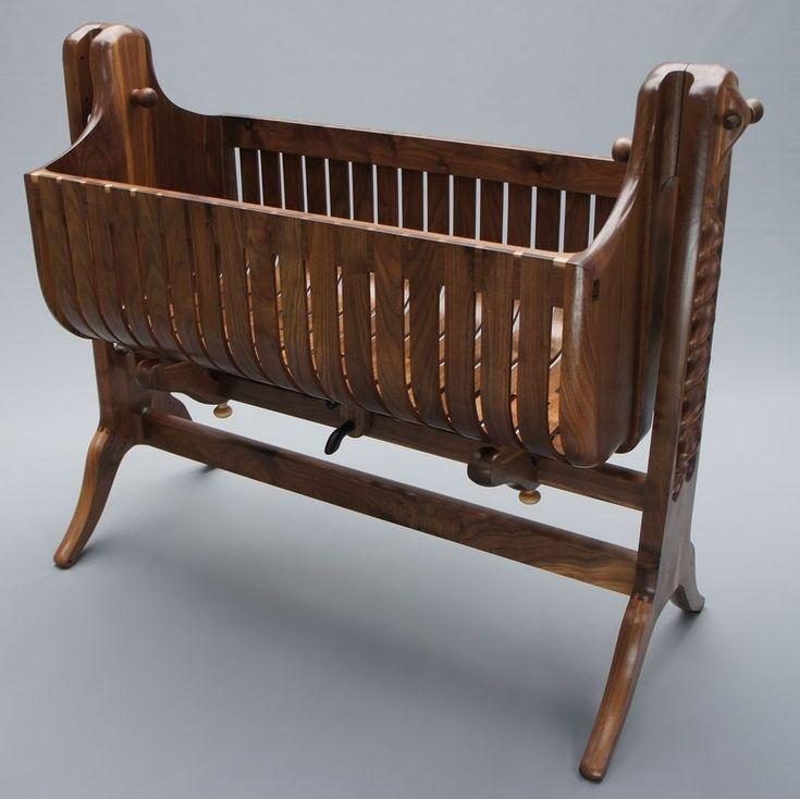 Die besten 25+ Rustic cradles and bassinets Ideen auf Pinterest