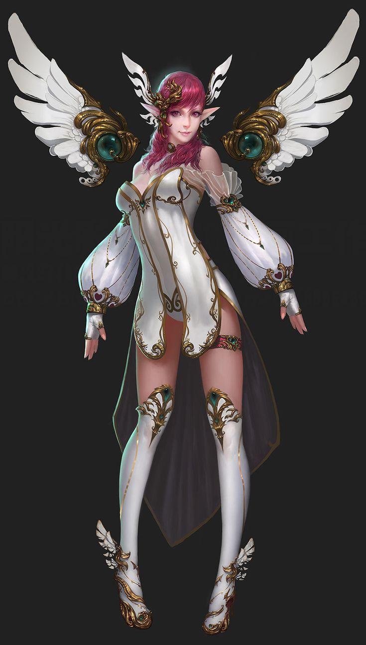 Angel, Zheng Sun on ArtStation at https://www.artstation.com/artwork/angel-67f8a8bb-478d-463e-a4eb-da45049b8a4b