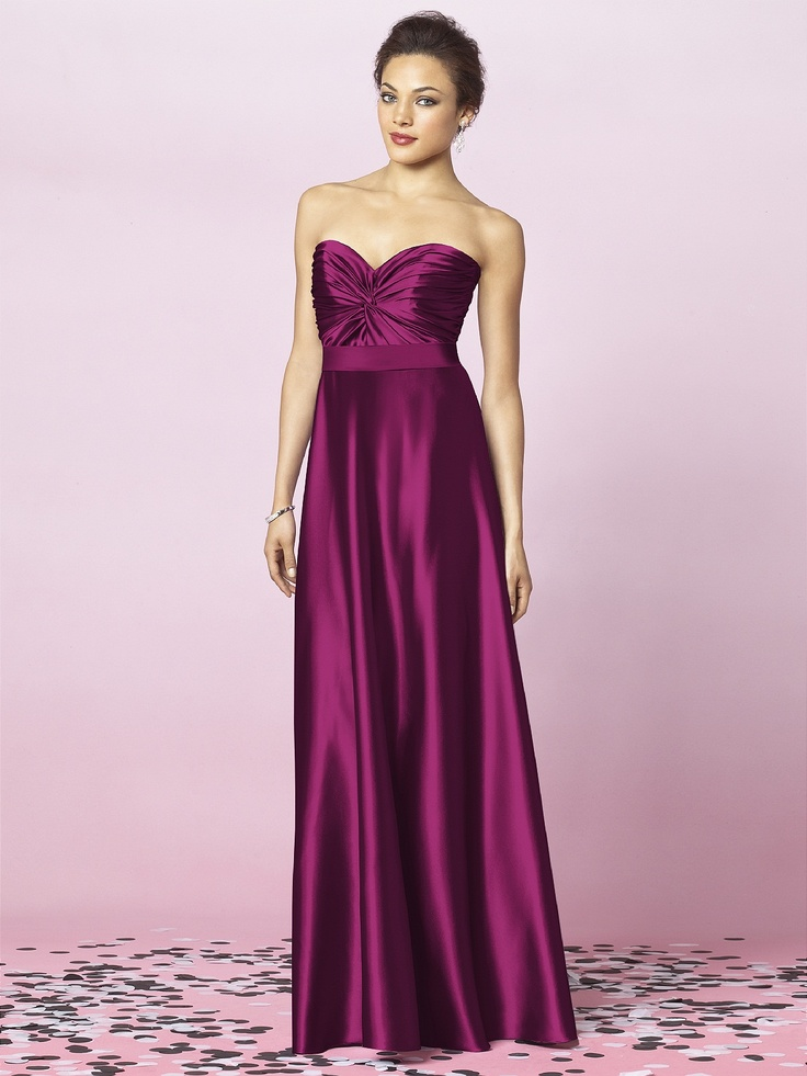 Excelente Vestidos De Dama De Honor Merlot Ideas Ornamento ...