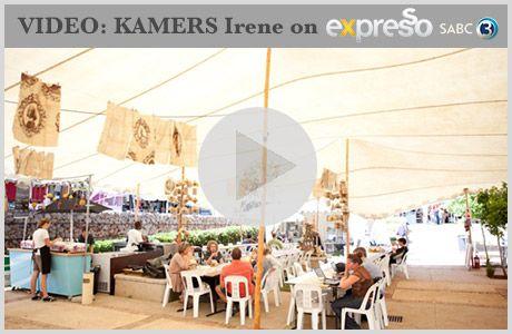 """SABC 3's Expresso team visited KAMERS Irene 2012 and sat down with the organisers to find out how KAMERS became such a wonderful success in Pretoria. Watch here: http://www.youtube.com/watch?v=W_qr_bwxCq0     They describe it as:  """"'n Moet vir dié wat hou van n mooi ding! Watertand kos, bekoorlike dekor items, handgemaakte keramiekware, skryfbehoeftes en soveel meer..."""""""