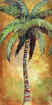 Mellow Palm III by Kristen Abrahamson. Palm Tree Paintings for Coastal Decor. Tropical artwork and palm tree wall art prints. Our prints are produced on acid-free papers using archival inks to guarantee that they last a lifetime without fading or loss of color. Brighten your home with the vibrant and brilliant colors of Abrahamson Fine Art. Order now as a print on paper, on canvas, on metal or on wood. https://kristen-abrahamson.pixels.com
