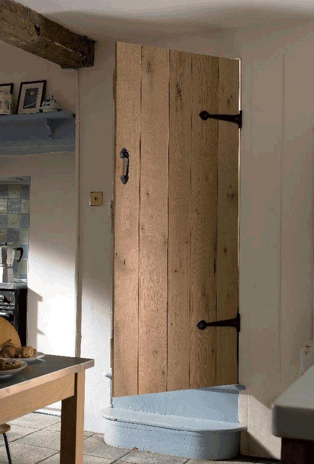 eikenhouten binnendeur voor een prachtige landelijke sfeer!