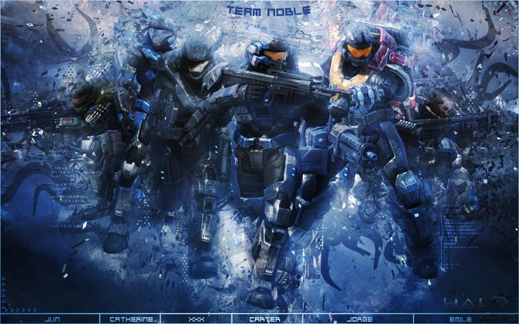 """Noble 6 from the upcoming game """"Halo: Reach"""" EDIT: everyday i see a new fav for this, and that makes me happier every time, 'cause its the first pic i have thats in the first search page! GO ME!!!!..."""