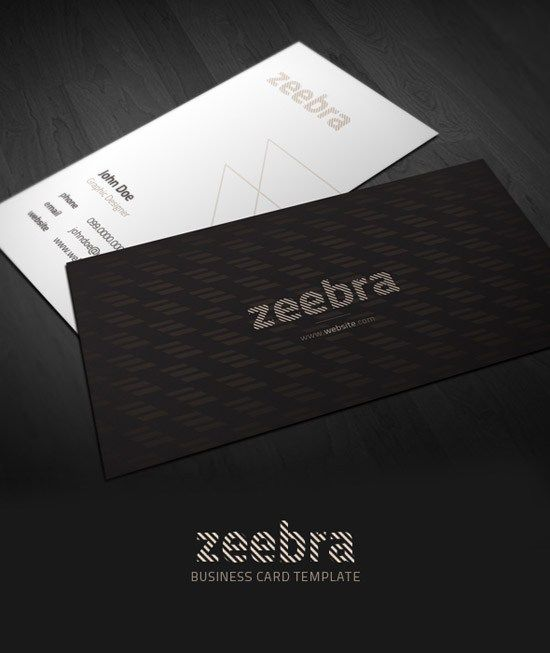 44 best business cards images on pinterest business card design buy zeebra business card by northwestbranding on graphicriver this is simple clean and elegant business card template its a fully editable reheart Images