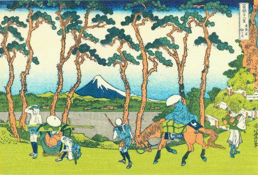 葛飾北斎の傑作「富嶽三十六景」は、実は36枚ではない【画像】