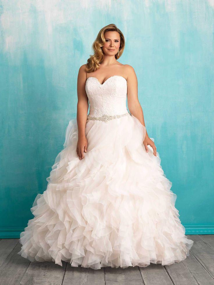 Perfect Allure Bridals Style W Wedding Dress StylesWedding GownsBridal GownsPrincess Wedding DressesWoman