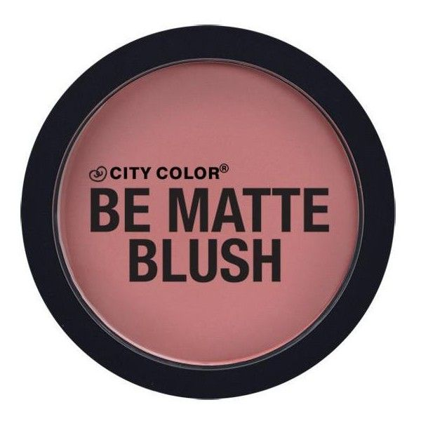 Be Matte Blush ($3.99) ❤ liked on Polyvore featuring beauty products, makeup, cheek makeup, blush and mineral blush