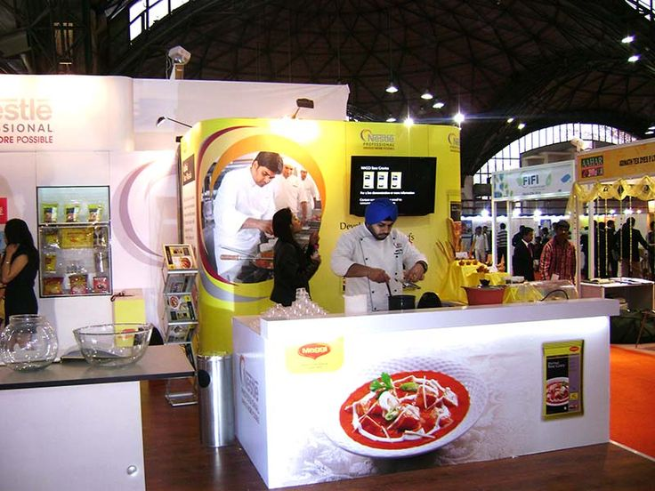 Exhibition Stand for Maggi. Visit our website for more details www.expodisplayservice.ae