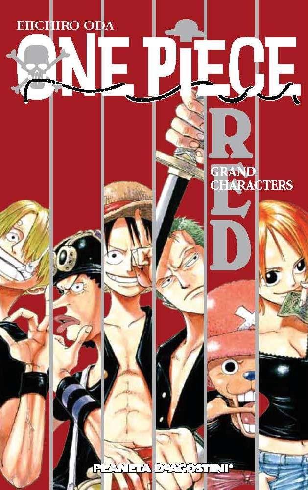 One Piece Guía 1 RED Planeta DeAgostini Cómics