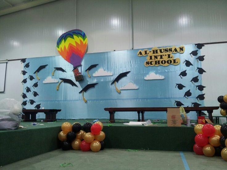 Resultado de imagen de kindergarten graduation decorations