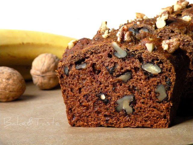 Bake&Taste: Ciasto bananowe. Daktylami słodzone